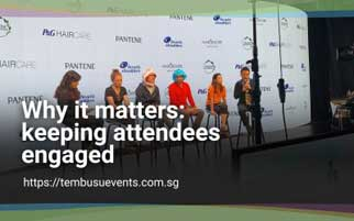 Why it matters: Keeping Attendees Engaged
